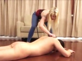 Slave tortured with shocker and whipped