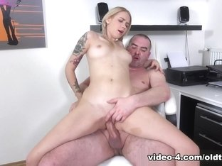 Tisha in Trisha gets an A + by sucking and fucking her tricky old teacher - TrickyOldTeacher
