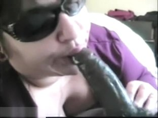 Pretty Chubby Ex-Religious Nun Make A Hell Of A Blowjob To His Black Friend Dude