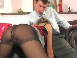 Anal-Pantyhose Movie: Alina E and Ralph