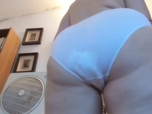 Big farts in white panties and diaper