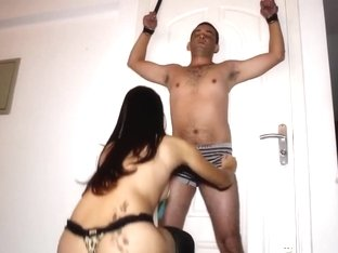 Helpless Ballbusting