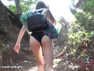 Ariel Grace in Ariel Takes You Down To The Beach To Get Dirty - ATKGirlfriends