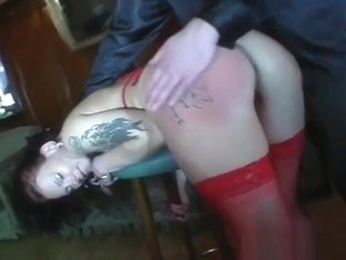 Bizarre Humiliation For A Wench Who Gets Spanked And Slaped