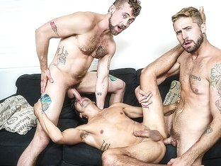 Jay Austin & Titus & Wesley Woods in Living That Ho Life Part 2 - MenNetwork
