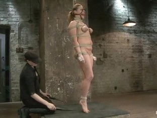 20 year old Ashlynn & ginger Odile get shown the ropes & defiled!