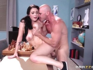 Big Tits at School: Noelle Joins the Chest Club. Noelle Easton, Johnny Sins