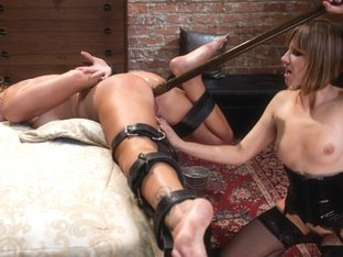 Fabulous fetish porn scene with hottest pornstars Brooklyn Lee and Maitresse Madeline Marlowe from.