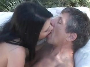Teen cutie suck and fuck an old cock at ###lside