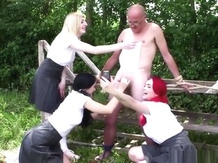 Cfnm Teens Wanking Dudes Cock In Outdoor Bdsm