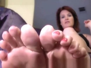 Annabelle Flowers Foot Worship Lesson