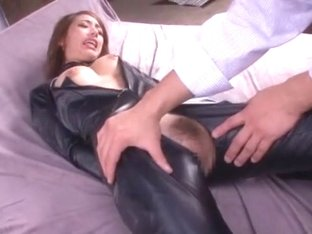 Amazing Japanese whore Riho Hasegawa in Hottest Vintage, Latex JAV video