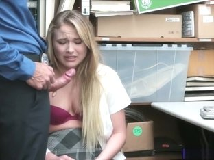 Thief in uniform Alyssa Cole pounded by perv police officer