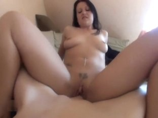 Slow Pussy Penetration Cowgirl Style