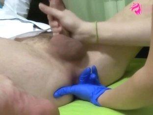 Prostate Massage Non Stop Cumming.