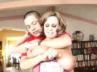 Heavy chested milf Brandy Talore gets nailed hard