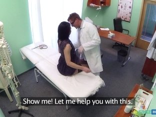 Best pornstar in Horny Medical, Voyeur xxx scene